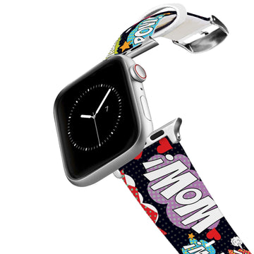Comic Words Apple Watch Band Apple Watch Band C4 BELTS