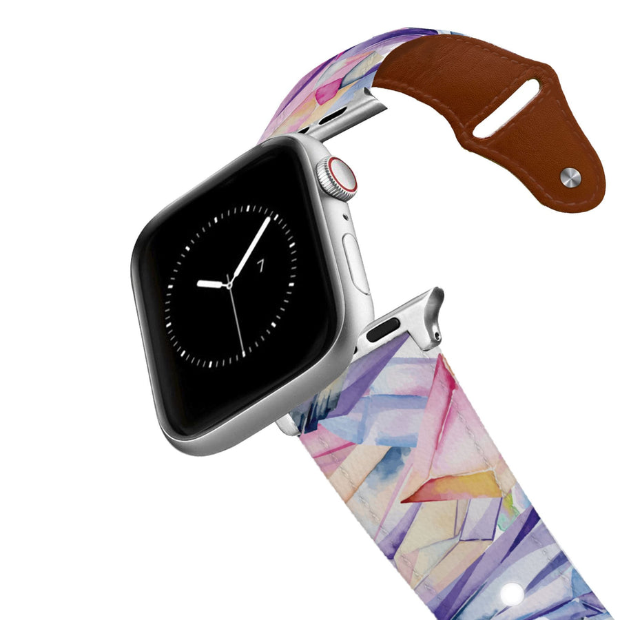 Crystalized Leather Apple Watch Band Apple Watch Band - Leather C4 BELTS