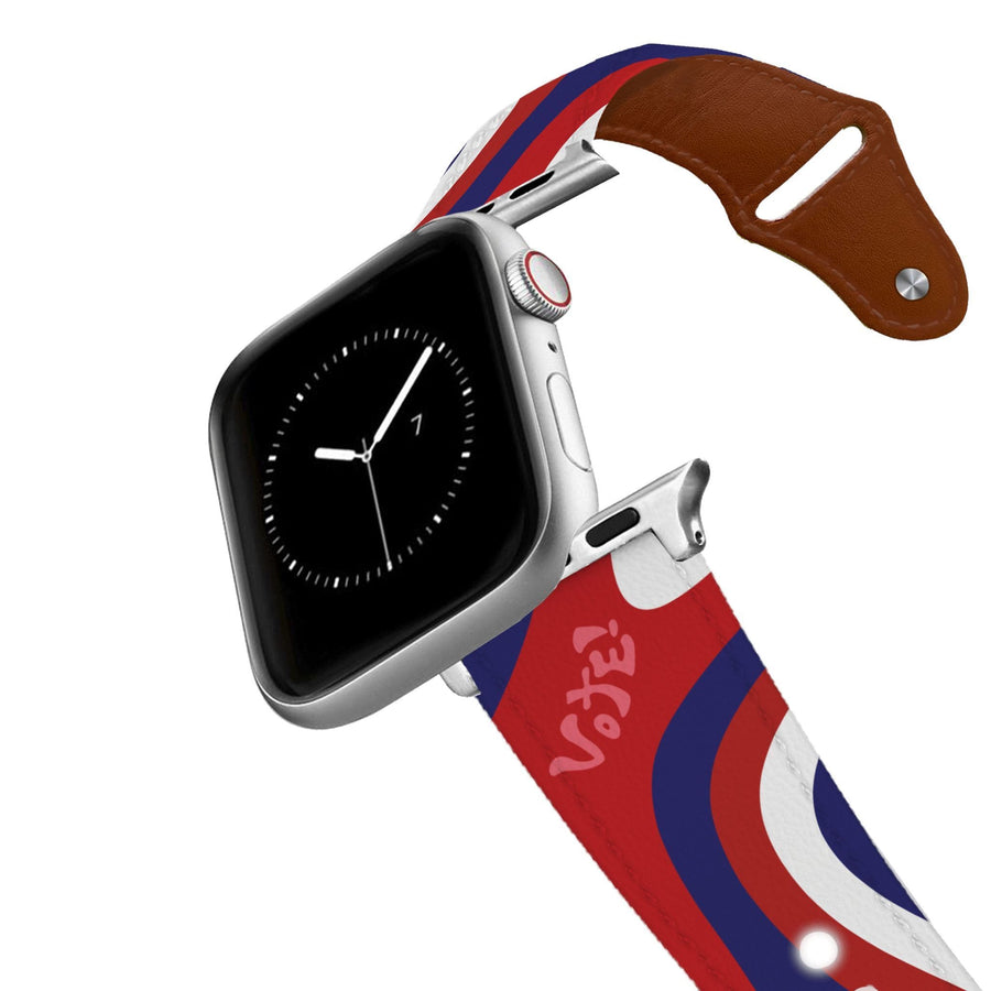 Go Vote Leather Apple Watch Band Apple Watch Band - Leather C4 BELTS