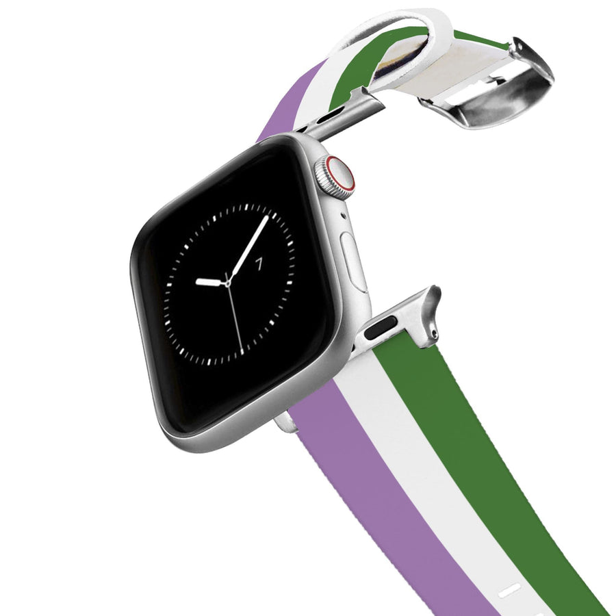 Gender Queer Flag Apple Watch Band Apple Watch Band C4 BELTS