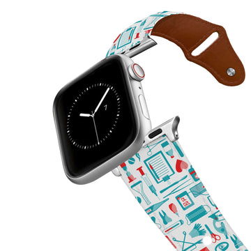 Medical Tools Leather Apple Watch Band Apple Watch Band - Leather C4 BELTS