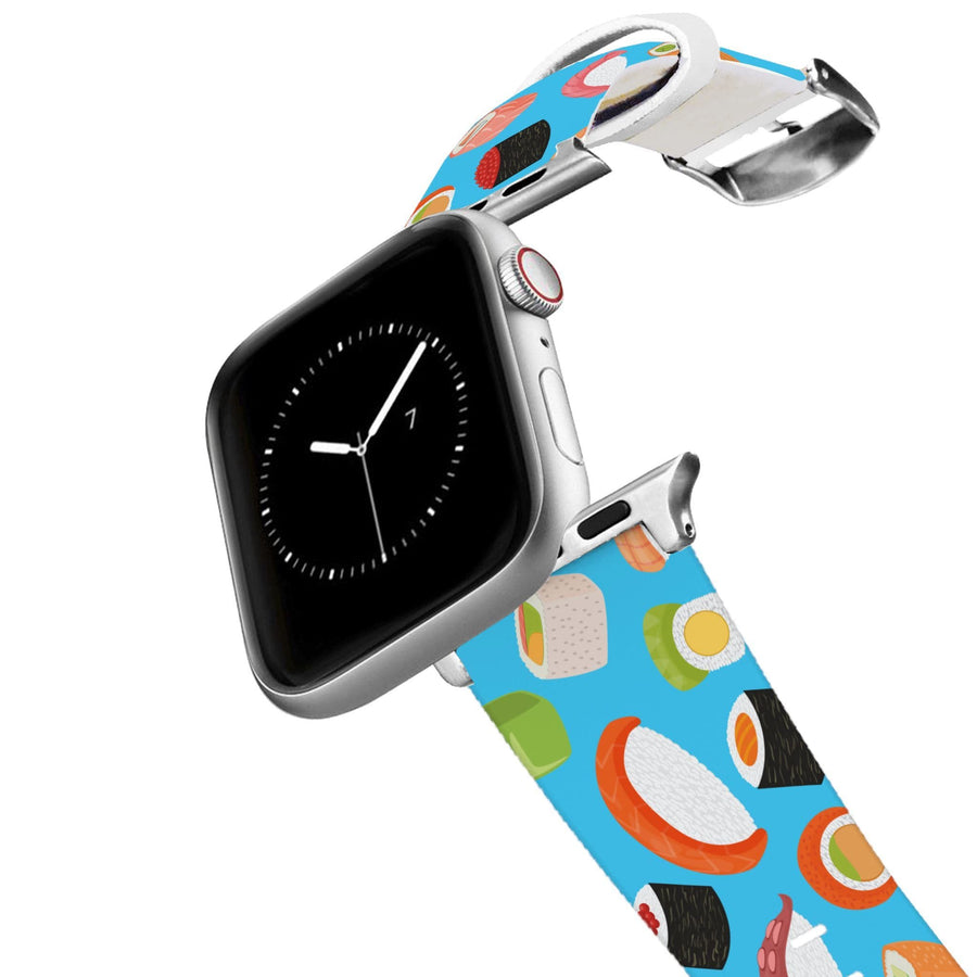 Roll With It Blue Apple Watch Band Apple Watch Band C4 BELTS