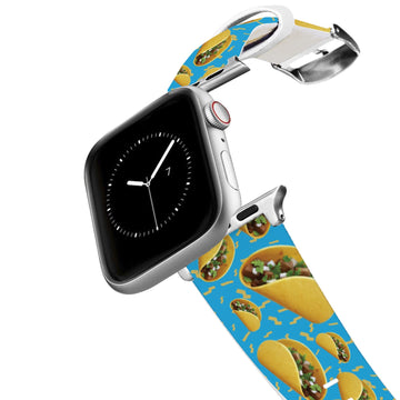 Tacos Blue Apple Watch Band Apple Watch Band C4 BELTS