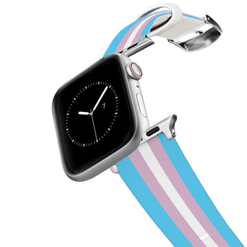 Transgender Flag Apple Watch Band Apple Watch Band C4 BELTS