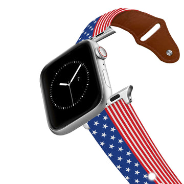 Americana Leather Apple Watch Band Apple Watch Band - Leather C4 BELTS