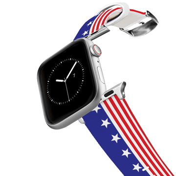 Americana Throwback Apple Watch Band Apple Watch Band C4 BELTS