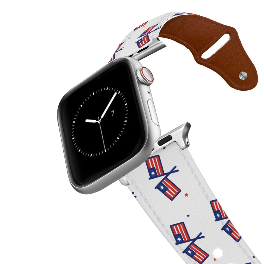 Independence Leather Apple Watch Band Apple Watch Band - Leather C4 BELTS
