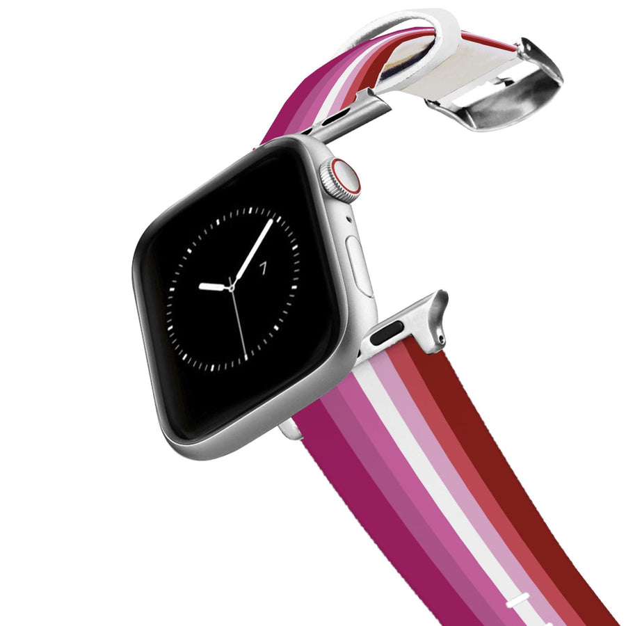 Lesbian Flag Apple Watch Band Apple Watch Band C4 BELTS