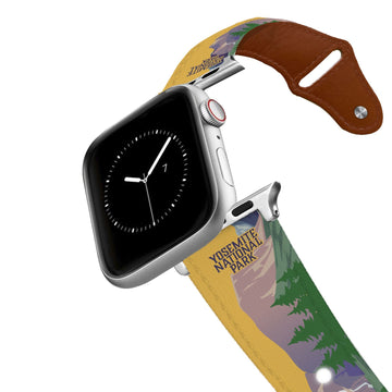 Yosemite National Park Leather Apple Watch Band Apple Watch Band - Leather C4 BELTS