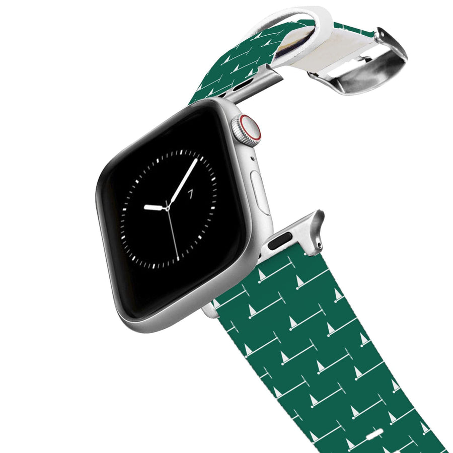 Hole In One - Green Apple Watch Band Apple Watch Band C4 BELTS
