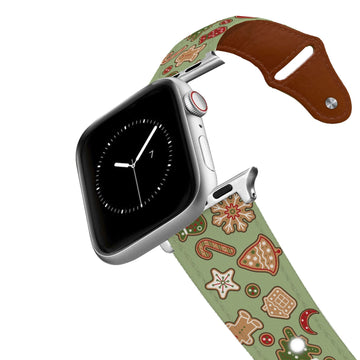 Gingerbread Leather Apple Watch Band Apple Watch Band - Leather C4 BELTS
