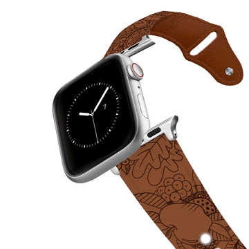 Give Thanks Leather Apple Watch Band Apple Watch Band - Leather C4 BELTS