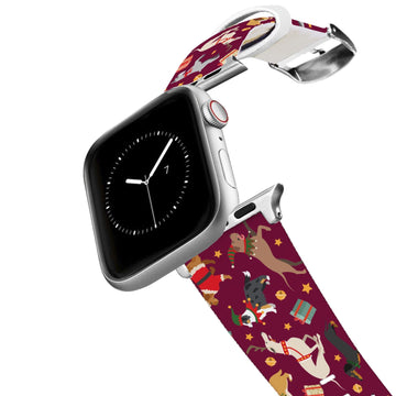 Happy Pawlidays Apple Watch Band Apple Watch Band C4 BELTS