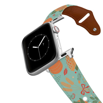 Pumpkin PIe Leather Apple Watch Band Apple Watch Band - Leather C4 BELTS
