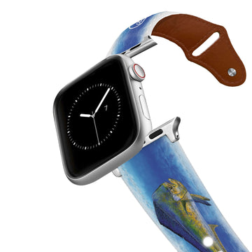 Carey Chen - Art Series Offshore Game Fish Leather Apple Watch Band Apple Watch Band - Leather C4 BELTS