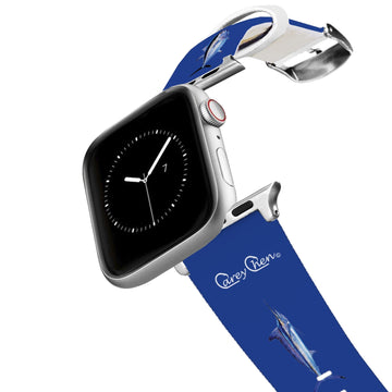 Carey Chen - Bio Series Game Fish Grand Slam Navy Apple Watch Band Apple Watch Band C4 BELTS