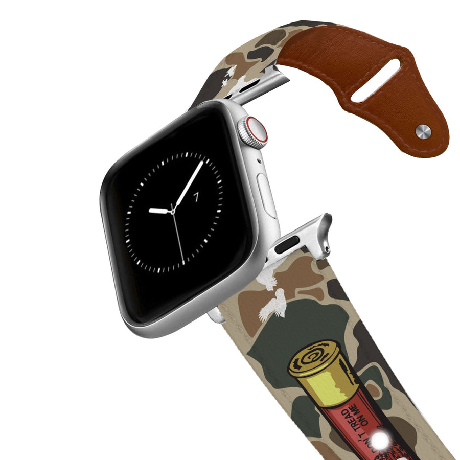 410 Camo Leather Apple Watch Band Apple Watch Band - Leather C4 BELTS