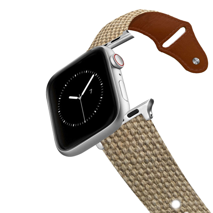 Canvas Leather Apple Watch Band Apple Watch Band - Leather C4 BELTS