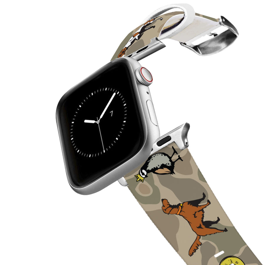 Dogs and Camo Apple Watch Band Apple Watch Band C4 BELTS