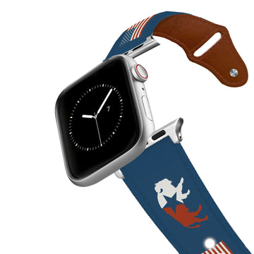 American Buffalo Leather Apple Watch Band Apple Watch Band - Leather C4 BELTS