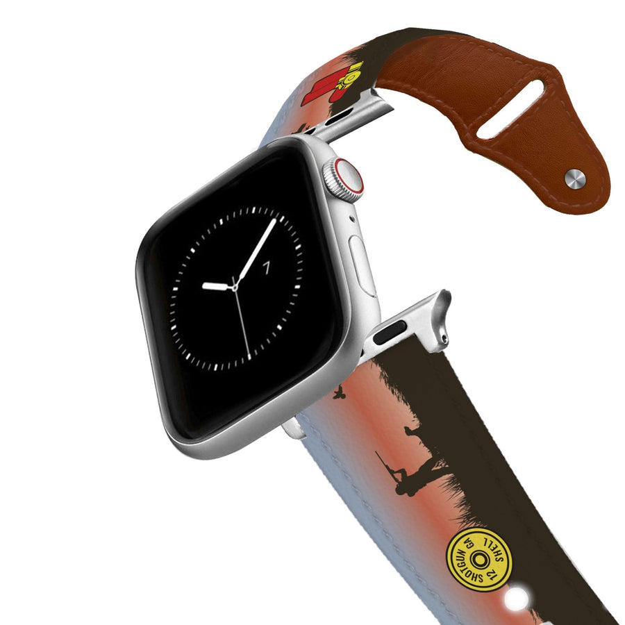 Pointer Sunset Leather Apple Watch Band Apple Watch Band - Leather C4 BELTS