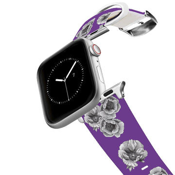 Decidedly Equestrian - Peony Purple Apple Watch Band Apple Watch Band C4 BELTS