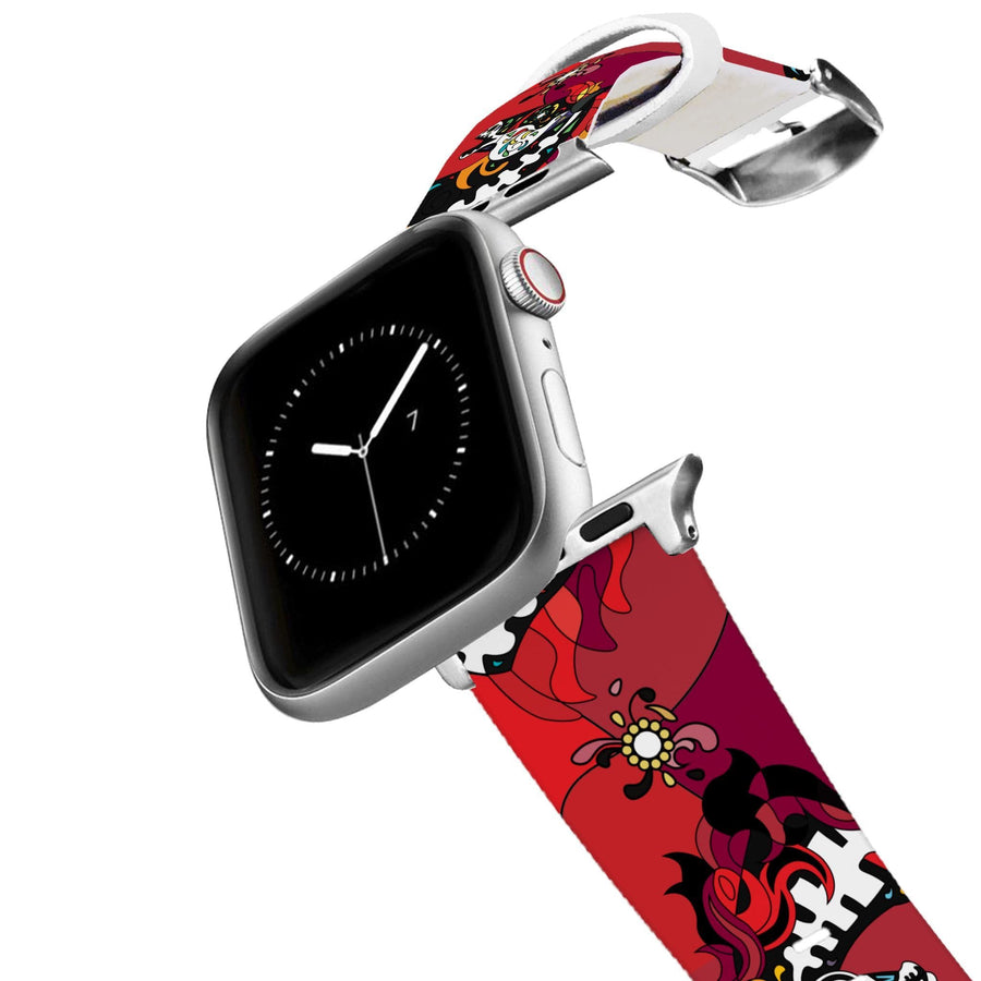 Horse on the L O O S E - Midnight Masquerade Apple Watch Band Apple Watch Band C4 BELTS