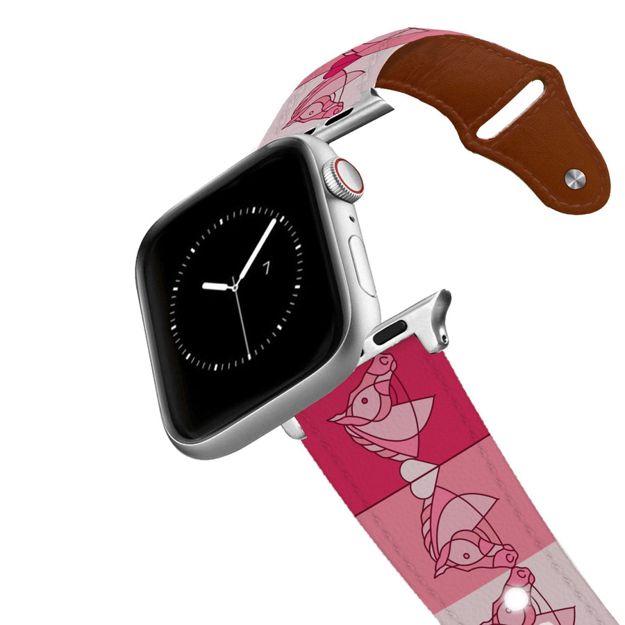 Horse on the L O O S E - My Valentine Leather Apple Watch Band Apple Watch Band - Leather C4 BELTS