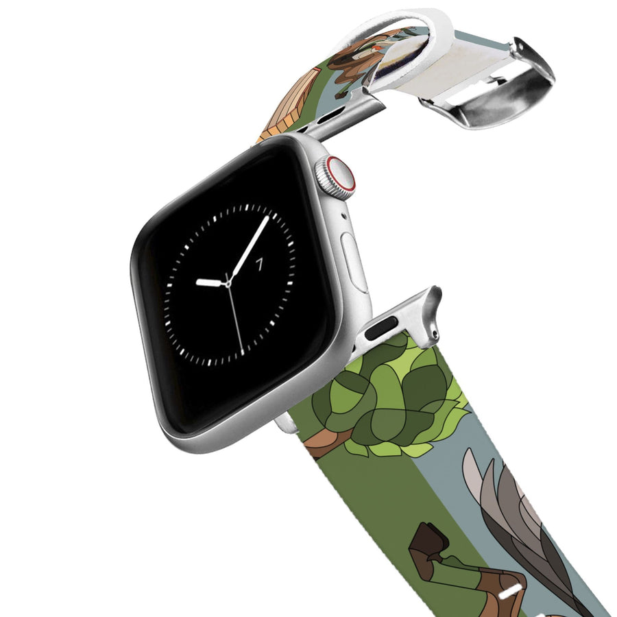 Horse on the L O O S E - Cross Country Apple Watch Band Apple Watch Band C4 BELTS