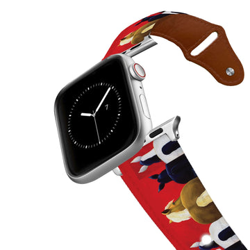 Leslie Anne Webb - Big Butts Leather Apple Watch Band Apple Watch Band - Leather C4 BELTS