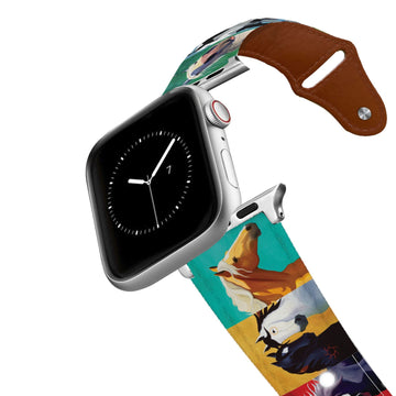 Leslie Anne Webb - Big Horse Leather Apple Watch Band Apple Watch Band - Leather C4 BELTS