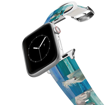 Leslie Anne Webb - Sam At The Beach Apple Watch Band Apple Watch Band C4 BELTS