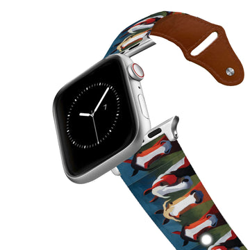 Leslie Anne Webb - The Trio Leather Apple Watch Band Apple Watch Band - Leather C4 BELTS