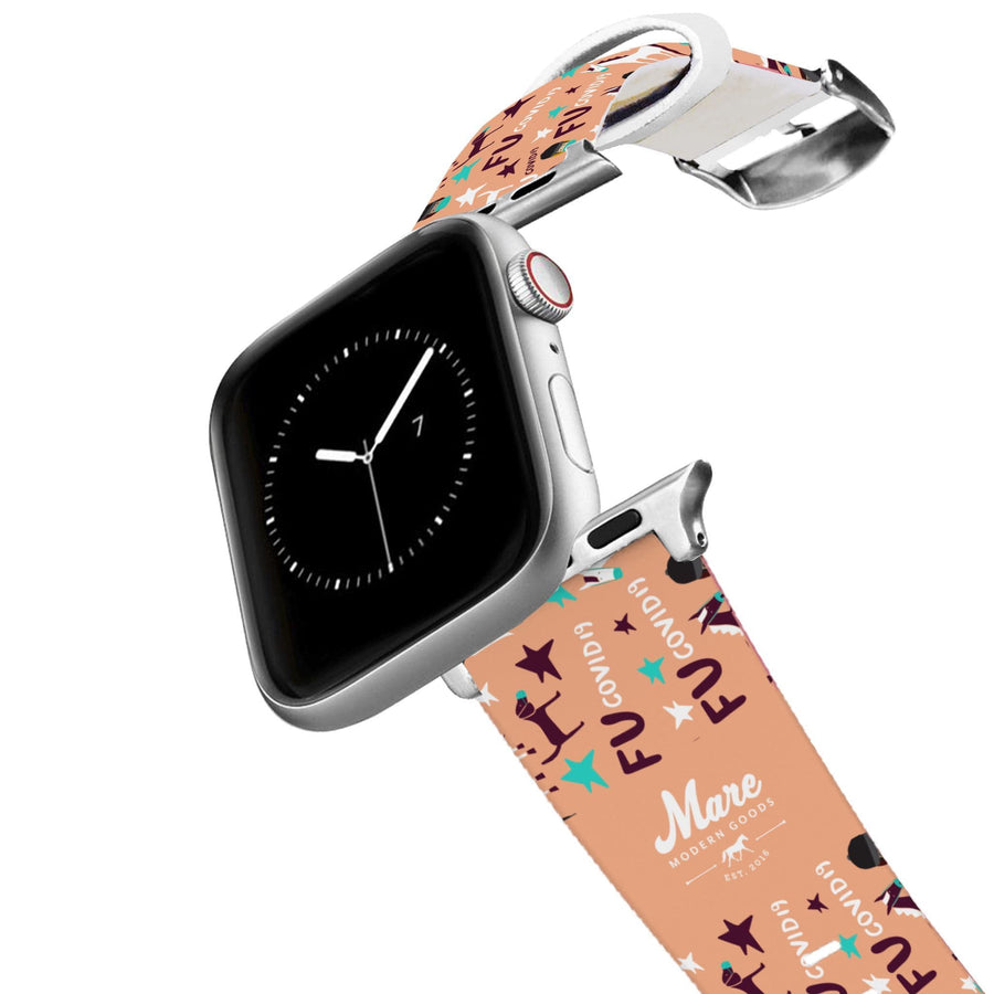 Mare Modern Goods - Covid 19 Apple Watch Band Apple Watch Band C4 BELTS