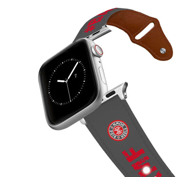 Ride Heels Down - BAMF Leather Apple Watch Band Apple Watch Band - Leather C4 BELTS