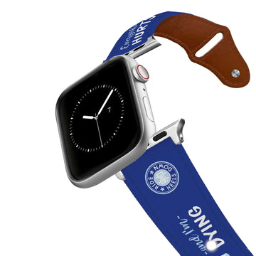 Ride Heels Down - Everything Hurts & I'm Dying Leather Apple Watch Band Apple Watch Band - Leather C4 BELTS