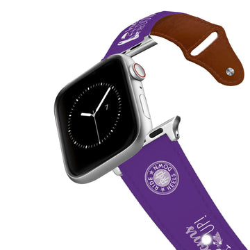 Ride Heels Down - Bottoms Up Leather Apple Watch Band Apple Watch Band - Leather C4 BELTS