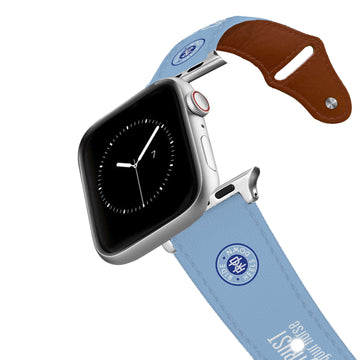 Ride Heels Down - Know your Course & Trust your Horse Leather Apple Watch Band Apple Watch Band - Leather C4 BELTS