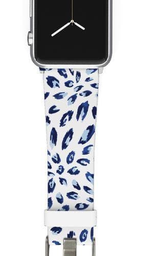 SanSoleil™ - Bobcat Navy Apple Watch Band Apple Watch Band C4 BELTS