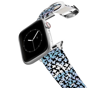SanSoleil™ - Forget Me Not Blue Apple Watch Band Apple Watch Band C4 BELTS