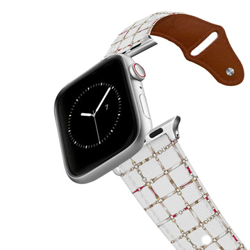 SanSoleil™ - On the Bit Leather Apple Watch Band Apple Watch Band - Leather C4 BELTS