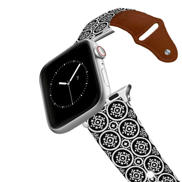 SanSoleil™ - Roundabout Leather Apple Watch Band Apple Watch Band - Leather C4 BELTS