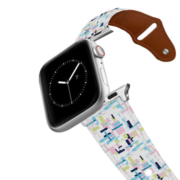 SanSoleil™ - Rylie Capri Leather Apple Watch Band Apple Watch Band - Leather C4 BELTS