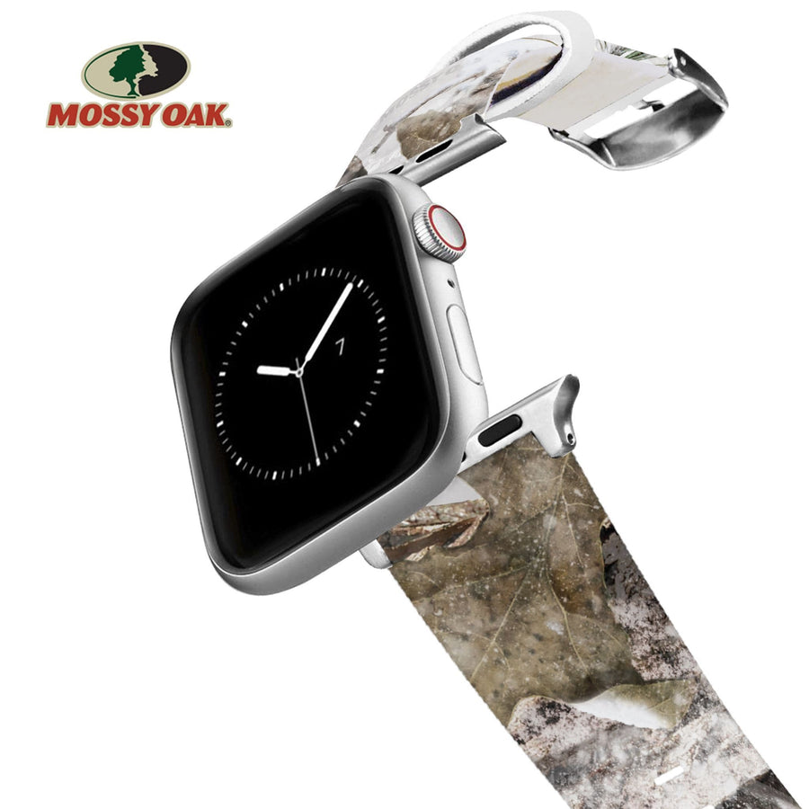 Mossy Oak - Break Up Country Snow Drift Apple Watch Band Apple Watch Band C4 BELTS