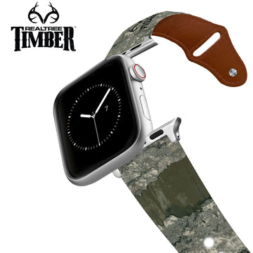 Realtree - Timber Multi Leather Apple Watch Band Apple Watch Band - Leather C4 BELTS