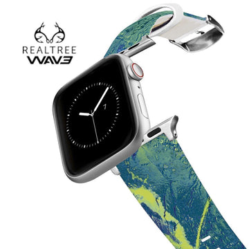 Realtree - Wave Contrast Apple Watch Band Apple Watch Band C4 BELTS