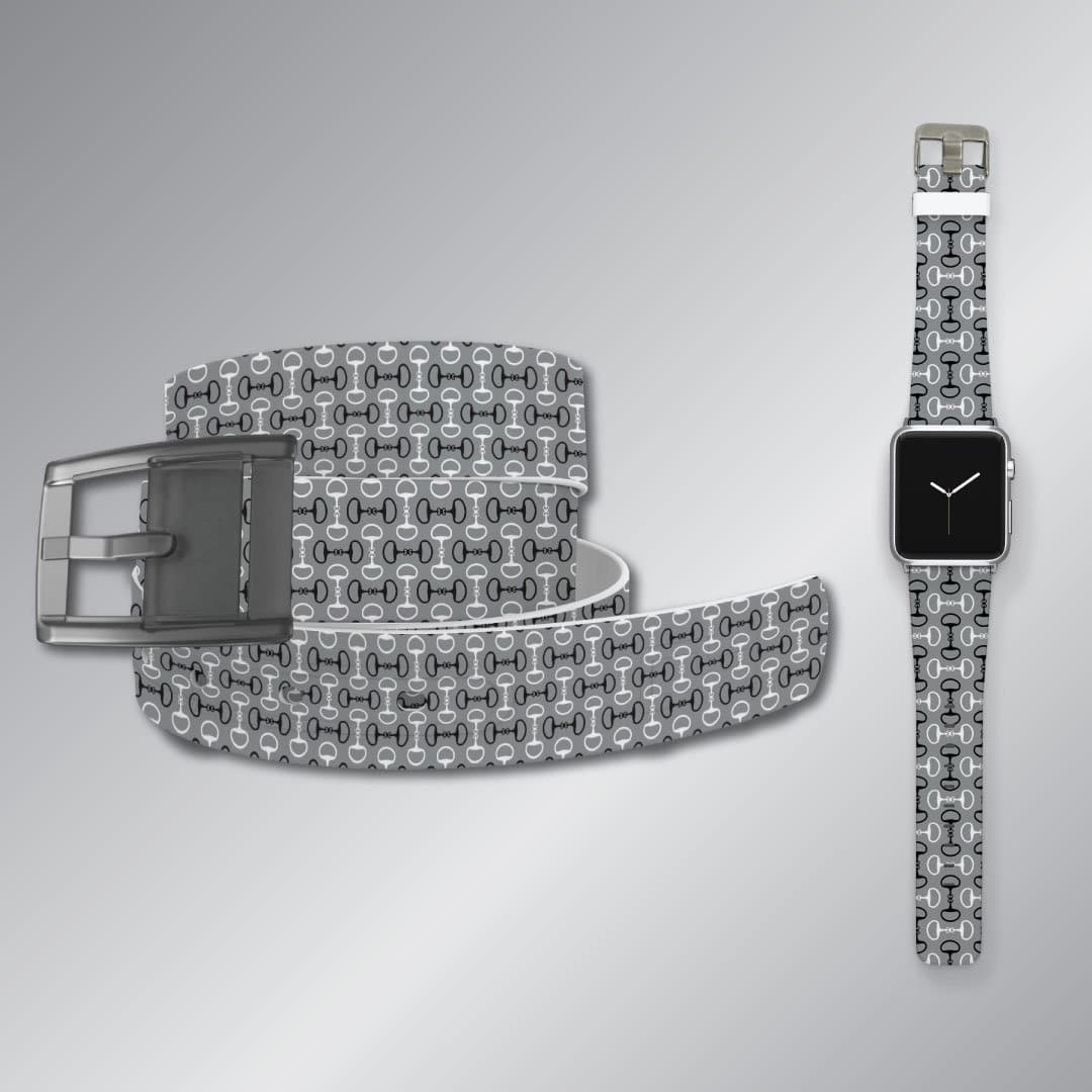 Bits Grey Belt & Apple Watch Band Bundle