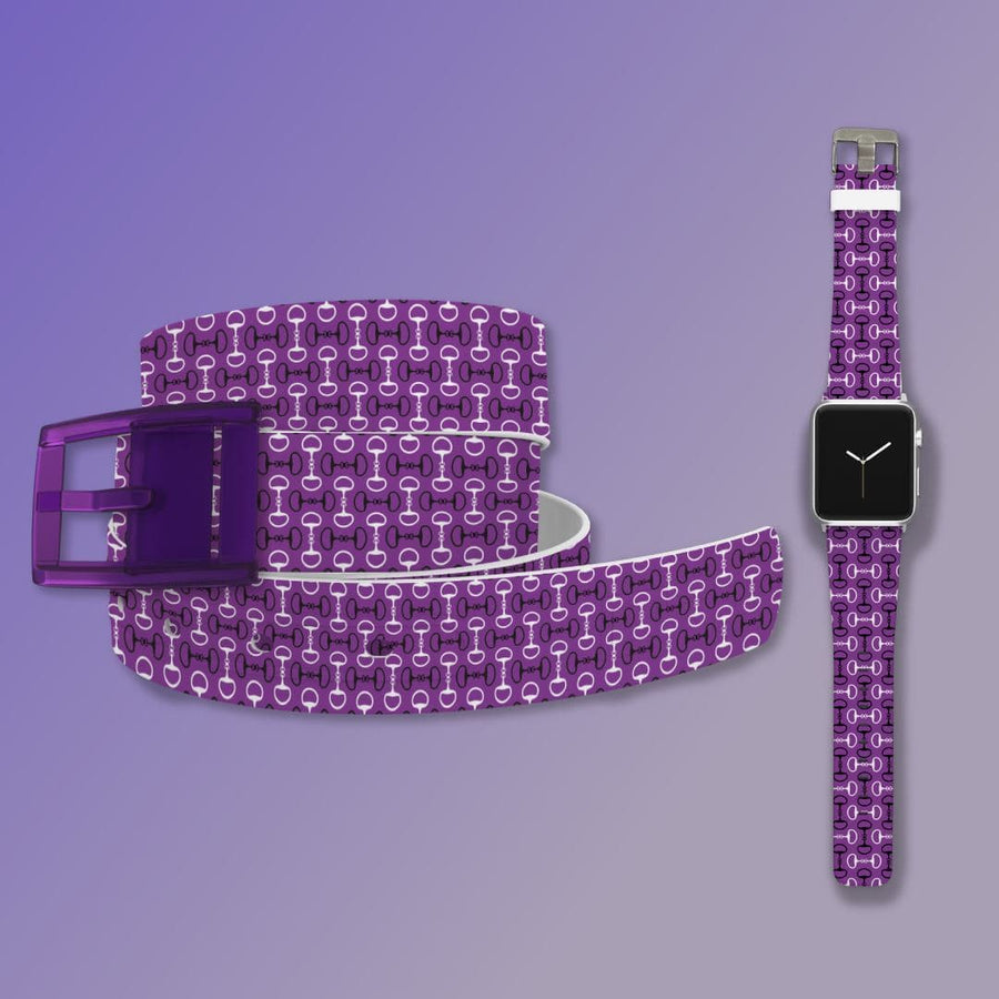 Bits Purple Belt & Apple Watch Band Bundle Product-Bundle C4 BELTS