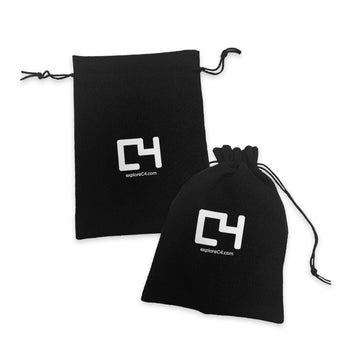 C4 Burlap Bag - Black Accessories C4 BELTS