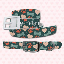 Load image into Gallery viewer, Dog Mom Belt & Favorite Child Dog Collar Bundle